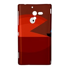 Red monster fish Sony Xperia ZL (L35H)