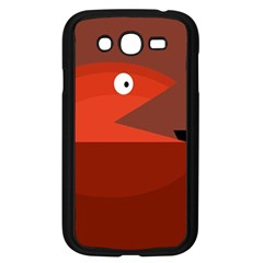 Red monster fish Samsung Galaxy Grand DUOS I9082 Case (Black)
