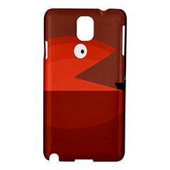 Red monster fish Samsung Galaxy Note 3 N9005 Hardshell Case