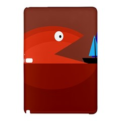 Red Monster Fish Samsung Galaxy Tab Pro 12 2 Hardshell Case