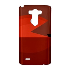Red monster fish LG G3 Hardshell Case