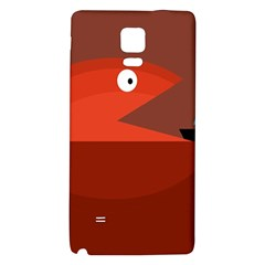 Red monster fish Galaxy Note 4 Back Case