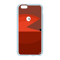 Red monster fish Apple Seamless iPhone 6/6S Case (Color)