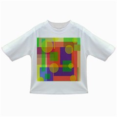 Colorful geometrical design Infant/Toddler T-Shirts