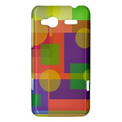 Colorful geometrical design HTC Radar Hardshell Case