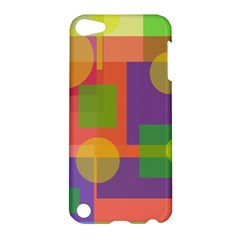 Colorful geometrical design Apple iPod Touch 5 Hardshell Case