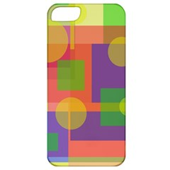 Colorful geometrical design Apple iPhone 5 Classic Hardshell Case