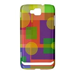 Colorful geometrical design Samsung Ativ S i8750 Hardshell Case
