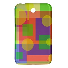 Colorful geometrical design Samsung Galaxy Tab 3 (7 ) P3200 Hardshell Case