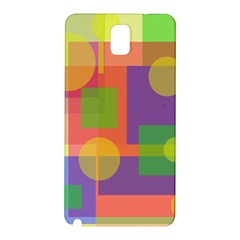 Colorful geometrical design Samsung Galaxy Note 3 N9005 Hardshell Back Case