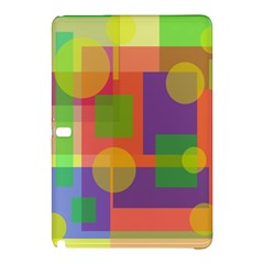 Colorful Geometrical Design Samsung Galaxy Tab Pro 12 2 Hardshell Case