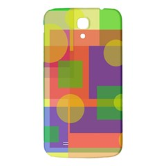 Colorful geometrical design Samsung Galaxy Mega I9200 Hardshell Back Case