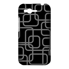 Black and gray decorative design HTC Rhyme