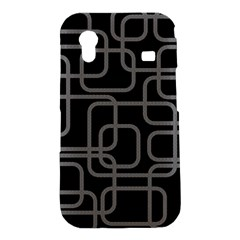 Black and gray decorative design Samsung Galaxy Ace S5830 Hardshell Case