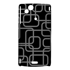 Black and gray decorative design Sony Xperia Arc