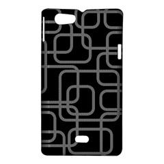 Black and gray decorative design Sony Xperia Miro