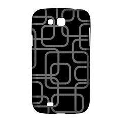 Black and gray decorative design Samsung Galaxy Grand GT-I9128 Hardshell Case