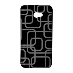 Black and gray decorative design HTC Butterfly S/HTC 9060 Hardshell Case