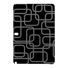 Black and gray decorative design Samsung Galaxy Tab Pro 10.1 Hardshell Case