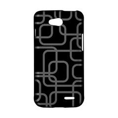 Black and gray decorative design LG L90 D410