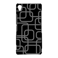 Black and gray decorative design Sony Xperia Z3