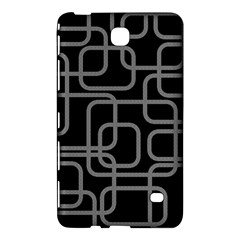 Black and gray decorative design Samsung Galaxy Tab 4 (8 ) Hardshell Case