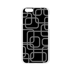 Black and gray decorative design Apple Seamless iPhone 6/6S Case (Transparent)