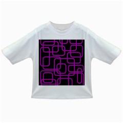 Purple and black elegant design Infant/Toddler T-Shirts