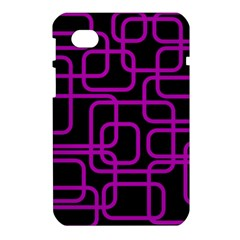 Purple and black elegant design Samsung Galaxy Tab 7  P1000 Hardshell Case