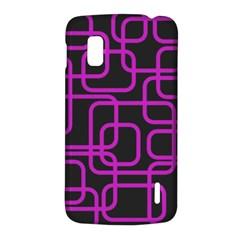 Purple and black elegant design LG Nexus 4