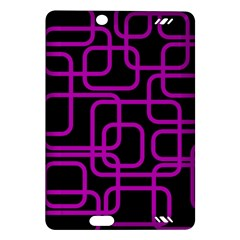 Purple and black elegant design Amazon Kindle Fire HD (2013) Hardshell Case