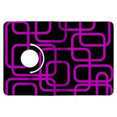 Purple and black elegant design Kindle Fire HDX Flip 360 Case