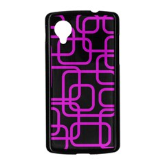 Purple and black elegant design Nexus 5 Case (Black)
