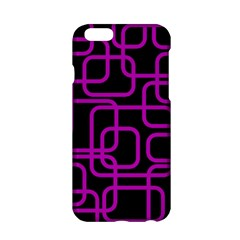 Purple and black elegant design Apple iPhone 6/6S Hardshell Case