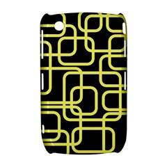 Yellow and black decorative design Curve 8520 9300