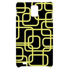 Yellow and black decorative design Samsung Infuse 4G Hardshell Case