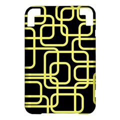Yellow and black decorative design Kindle 3 Keyboard 3G