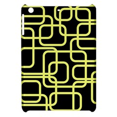 Yellow and black decorative design Apple iPad Mini Hardshell Case