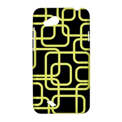 Yellow and black decorative design HTC Desire VC (T328D) Hardshell Case