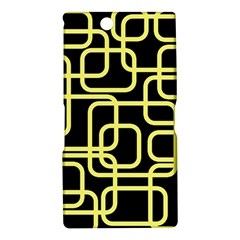 Yellow and black decorative design Sony Xperia Z Ultra