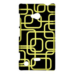 Yellow and black decorative design Nokia Lumia 720