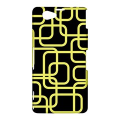 Yellow and black decorative design Sony Xperia Z1 Compact