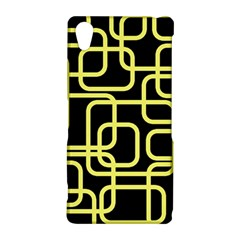 Yellow and black decorative design Sony Xperia Z2