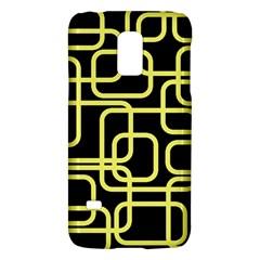Yellow and black decorative design Galaxy S5 Mini