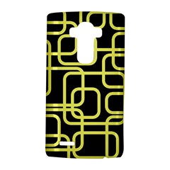 Yellow and black decorative design LG G4 Hardshell Case