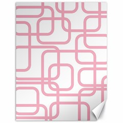 Pink elegant design Canvas 18  x 24