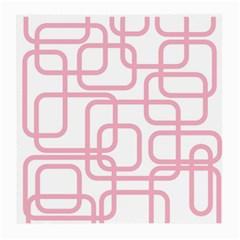 Pink elegant design Medium Glasses Cloth