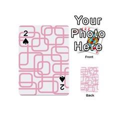 Pink elegant design Playing Cards 54 (Mini)