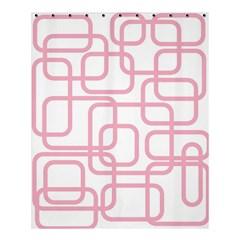 Pink elegant design Shower Curtain 60  x 72  (Medium)