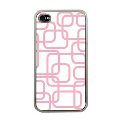 Pink elegant design Apple iPhone 4 Case (Clear)
